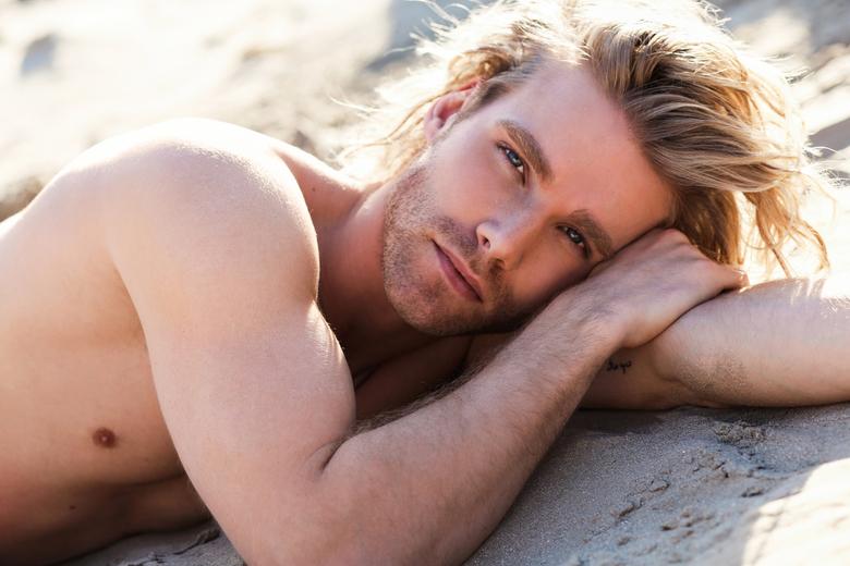 Sand grain - Model - Matt Stoffers <br /> Zanger van Duitse Boyband Feuerherz
