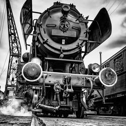 Oldtimer Locomotief