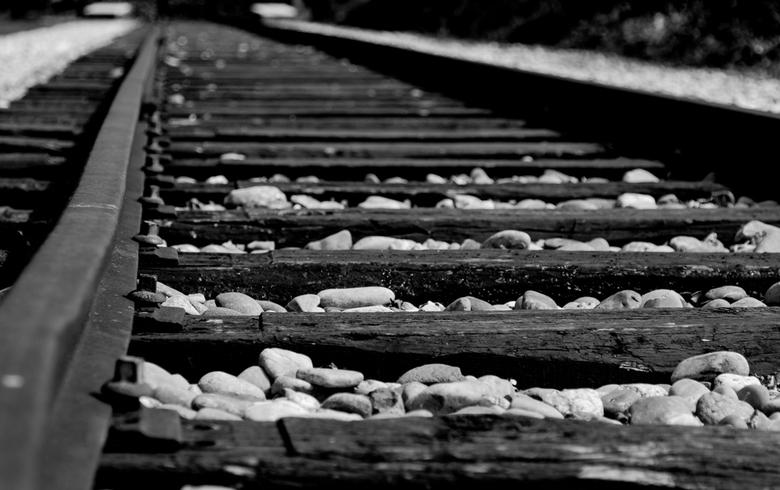 Spoorlijn Westerbork - Deze foto is genomen op het kamp Westerbork tijdens mijn vakantie.<br />