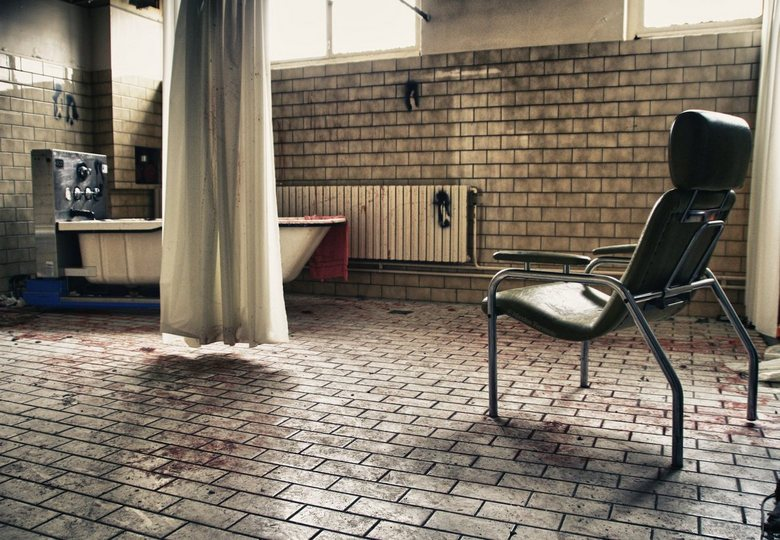 Verlaten Forest View Hospital -  Een verlaten zorginstelling in België.