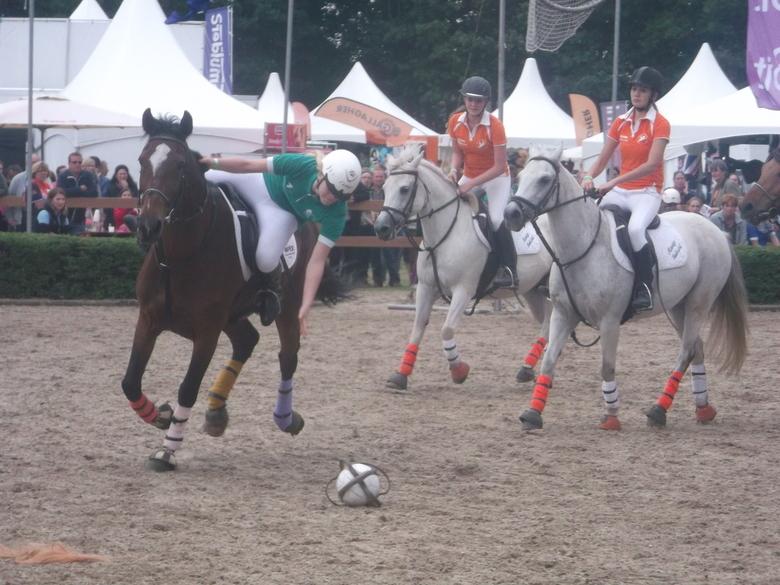 Horseball - Voetbal? Paardensport? Horseball!