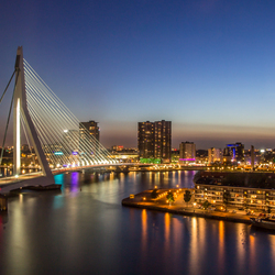 Rotterdam after sunset - part two