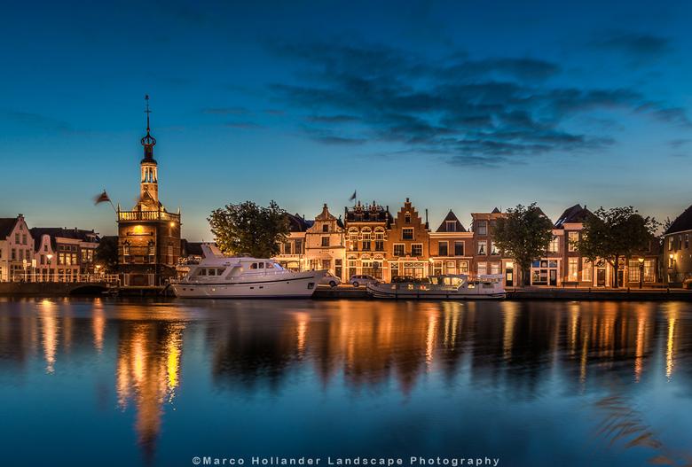 Bierkade Alkmaar - De Bierkade in Alkmaar op een zomeravond