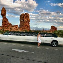 limo in de woestijn