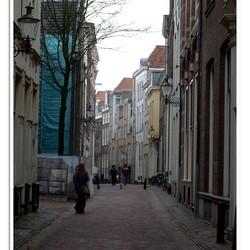 Een straatje in de binnenstad van Deventer