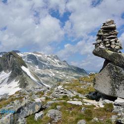 Berggezicht in de Alpen