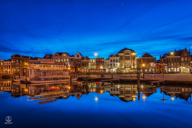 Blue Hour Beestenmarkt Leiden