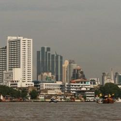 Bangkok by day.