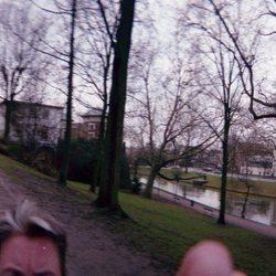 360 graden in het park