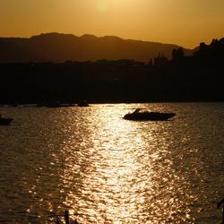 Sunset in Sicilië