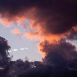 Vliegtuig doorkijkje