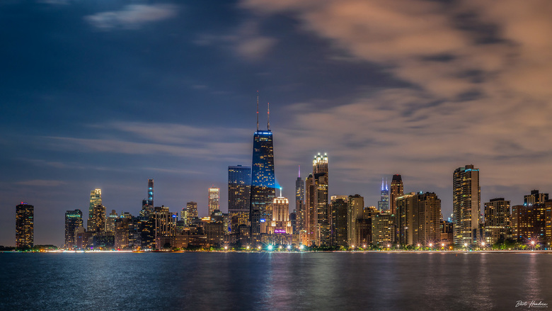 Chicago @ night - Chicago Illinois | USA