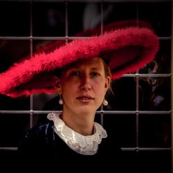 Meisje met de rode hoed.