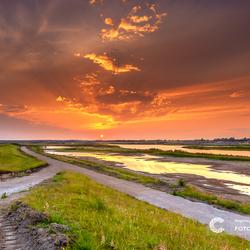 Bypass van de IJssel bij Kampen in aanbouw