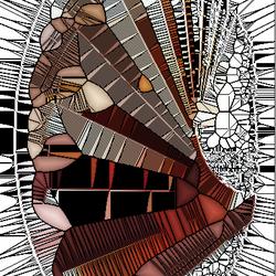 mozaik waaier
