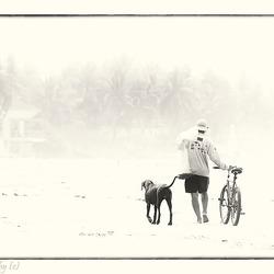 De visser, de hond en de fiets