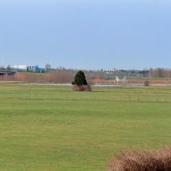 panorama vanaf de Lekdijk Vianen