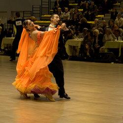 Danswedstrijd in Rouen