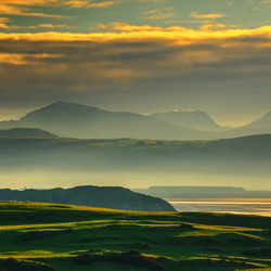 A foggy sunrise...North Wales