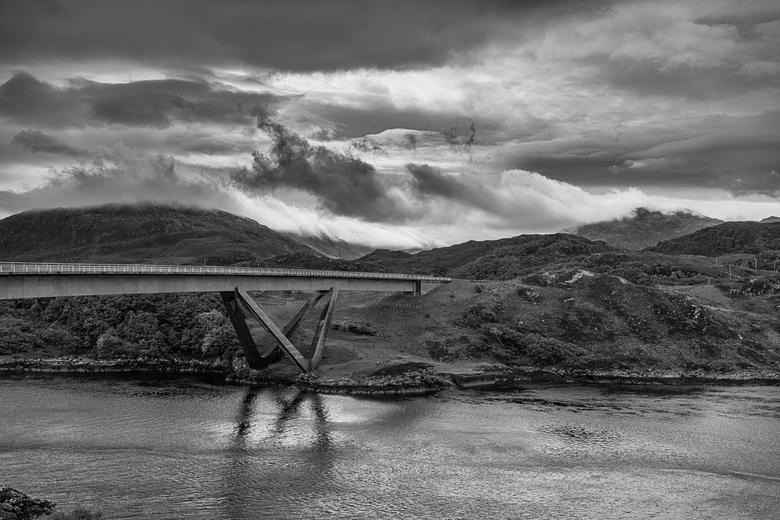 Schotland 1 - De Kylesku bridge in Schotland