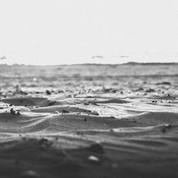 de zee is het strand