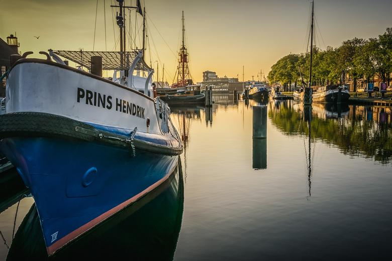 Early in the morning in Den Helder