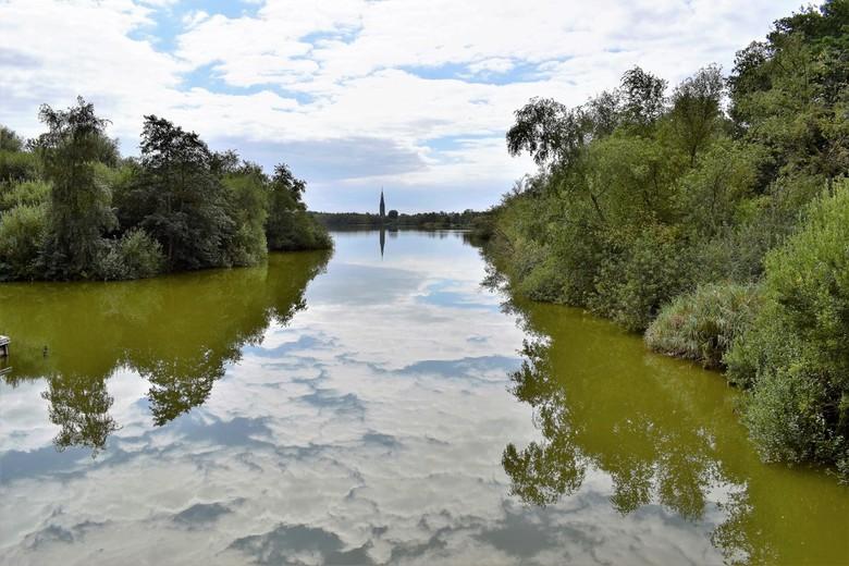 Reflecties - Water geeft een tegenbeeld in een andere kleur.