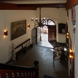 De hal van het stadhuis van Cochem, foto 2.