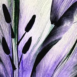 Tulp-Abstract