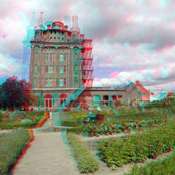 Tuin Villa Augustus Dordrecht 3D GoPro