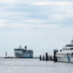 Aankomst van de Friesland