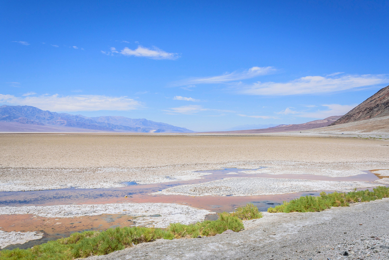 Death Valley - Badwater Basin - Badwater Basin in Death Valley