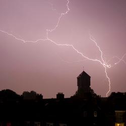Onweer in IJmuiden