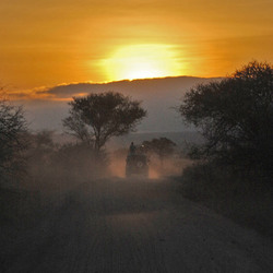 zonsopgang Tanzania