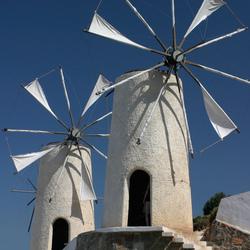 Windmolen op Kreta