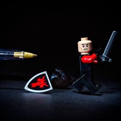 De pen is machtiger dan het zwaard