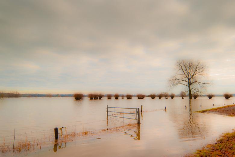 """Hoog water 2011 - """"de IJsel"""""""