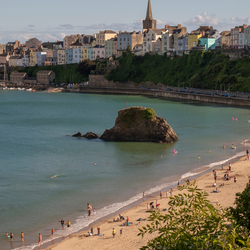 Summer in Tenby (Wales)