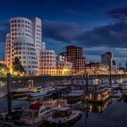 Düsseldorf haven