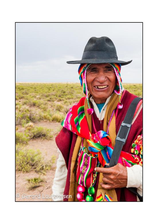 bol - portret Boliviaan