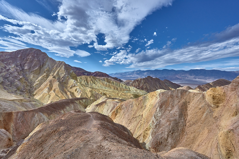 Golden Canyon trail - Death Valley National Park -