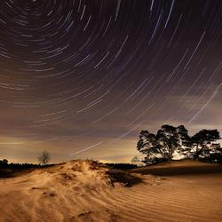 Nacht op de Duinen