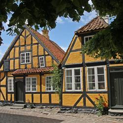 Huisjes in Faaborg