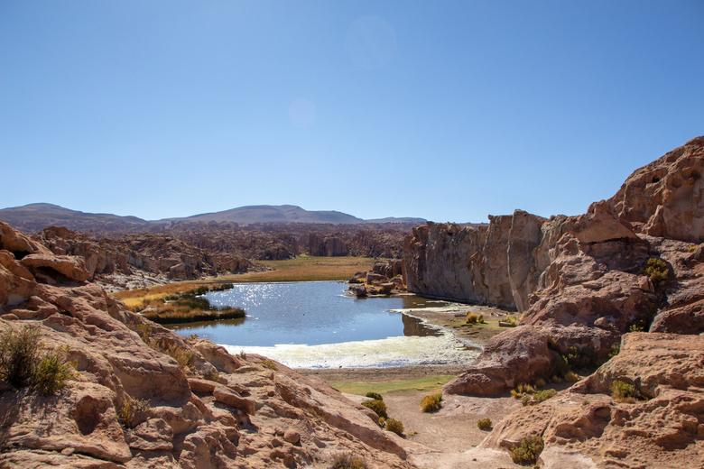 Villamar Mallcu, Bolivia - Villamar valley een plaats in Bolivia in het Andes gebergte