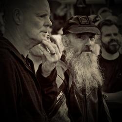man en baard