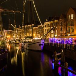 Groningen Kerstsfeer langs de kades