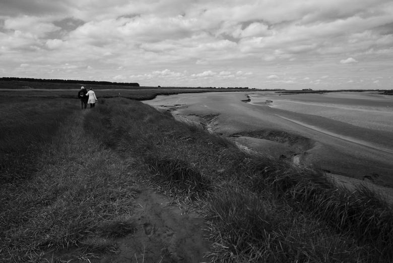 """Zeeland - Saeftinghe - Zicht op de slikken van het """"verdronken land van Saeftinghe"""", Zeeland. Prachtig gebied!"""