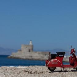 Scooter mee naar Rhodos Griekenland