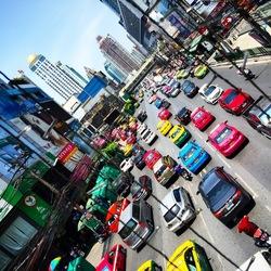 Bangkok drukte
