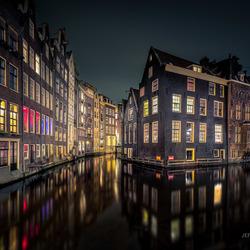 Amsterdam bij nacht!